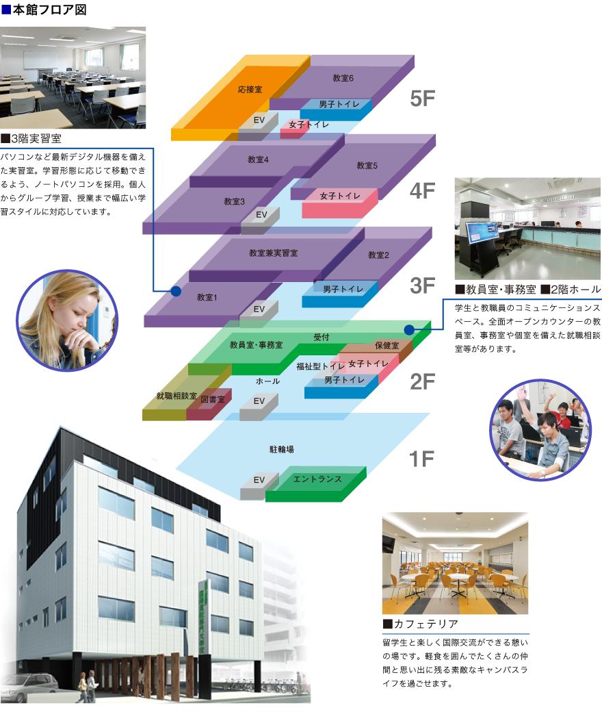 ■本館フロア図