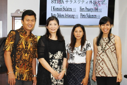Course to International Contribution College