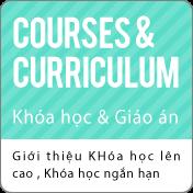 Khóa học & Giáo án:Giới thiệu khóa học lên trường chuyên môn , Khóa học ngắn hạn
